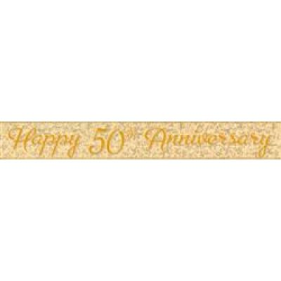 Foil Banner Prismatic 50th Anniversary