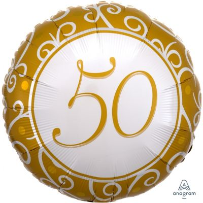 Anagram Foil 45cm 50th Anniversary