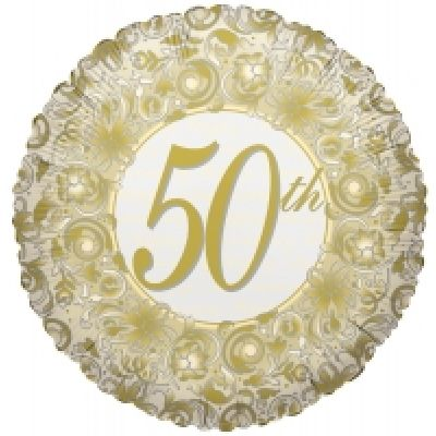 "Kaleidoscope Foil 18"" 50th Anniversary"