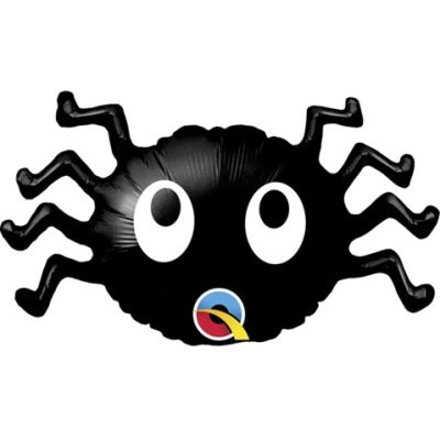 """Qualatex Micro-Foil 35cm (14"""") Mini Spider Eyes (Air Fill & Unpackaged)"""
