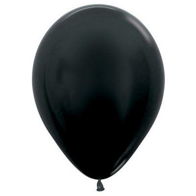 DTX (Sempertex) Balloon 100/30cm Metallic Black