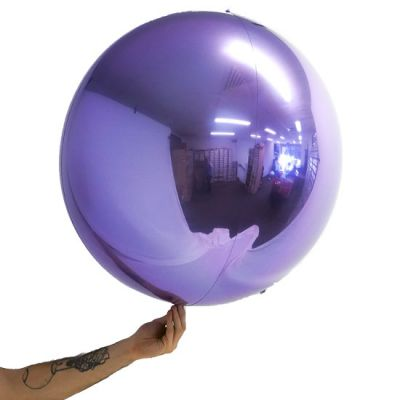 "Loon Balls® 61cm (24"") Metallic Lilac"