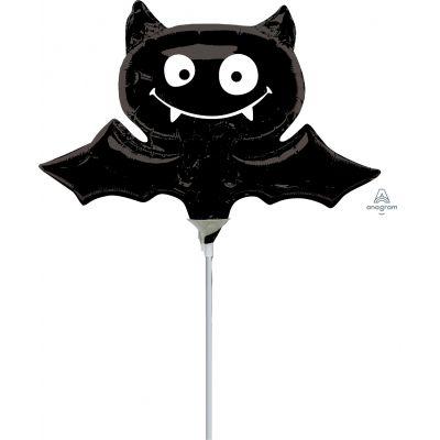 """Anagram Microfoil 35cm (14"""") Black Bat - Air fill (unpackaged)"""