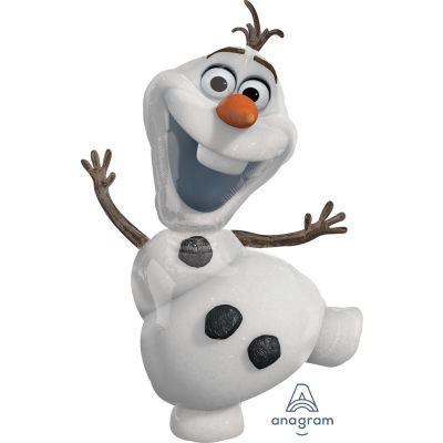 Anagram Foil Licensed Shape Frozen Olaf (58cm x 104cm)