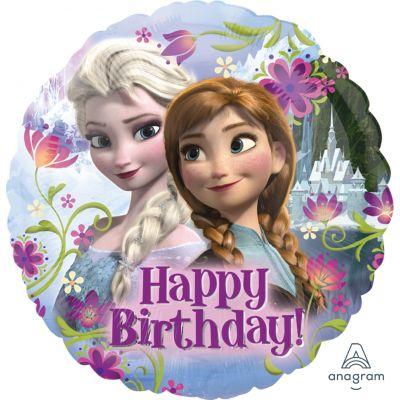 Anagram Licensed Foil 45cm Frozen Happy Birthday