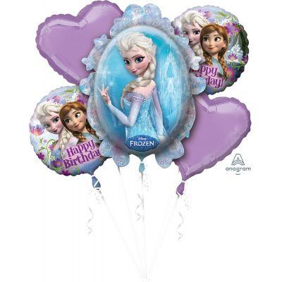 Anagram Licensed Foil Balloon Bouquet Kit Frozen Birthday