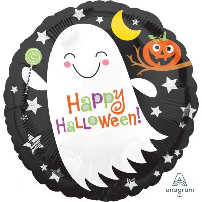 """Anagram Foil 45cm (18"""") Halloween Ghost with Candy"""