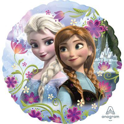 Anagram Licensed Foil 45cm Frozen Anna and Elsa