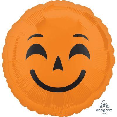 "Anagram Foil 45cm (18"") Emoticons Pumpkins"