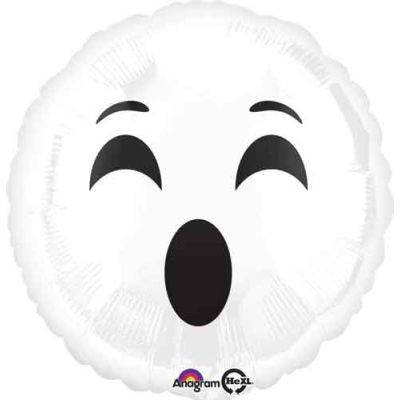 """Anagram Foil 45cm (18"""") Emoji Ghost"""