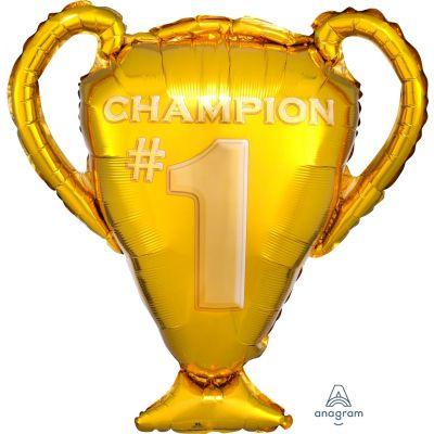 Anagram Foil SuperShape Gold Trophy (63cm x 71cm)
