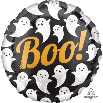"Anagram Foil 45cm (18"") Boo! Ghosts"