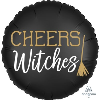 """Anagram Foil 45cm (18"""") Satin Cheers Witches (Halloween)"""
