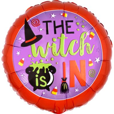"""Anagram Foil 45cm (18"""") Witch is in"""