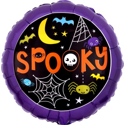"""Anagram Foil 45cm (18"""") Spooky Web and Spiders"""