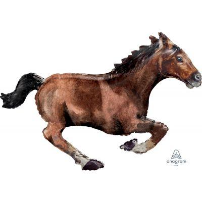 Anagram Foil Shape 101cm Galloping Horse (101cm x 63cm)