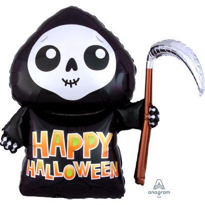 Anagram Foil SuperShape Happy Grim Reaper (66cm x 68cm)