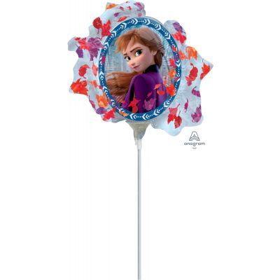 "Anagram Licensed Microfoil 22cm (9"") Frozen 2 Satin - Air fill (unpackaged)"