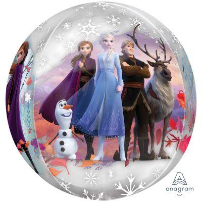 "Anagram Licensed Orbz Clear 16"" Frozen 2"