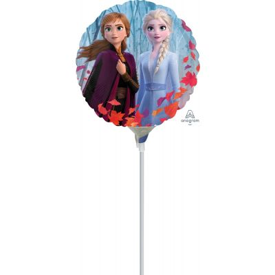 """Anagram Licensed Microfoil 10cm (4"""") Frozen 2 (2 Sided Print) - Air fill (unpackaged)"""