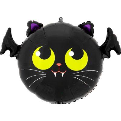 Anagram Foil SuperShape Batcat (50cm x 38cm)