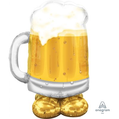 Anagram AirLoonz™ Large Beer Glass (78 x 124cm)