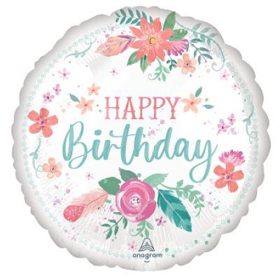 "Anagram Foil 18"" Free Spirit Birthday"