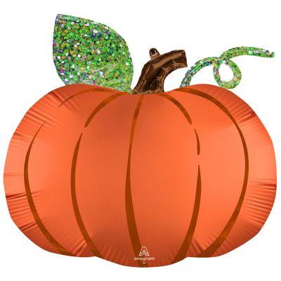 Anagram Foil SuperShape Satin Infused Pumpkin (63cm x 60cm)