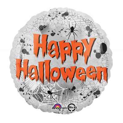 "Anagram Foil 45cm (18"") Mirror Happy Halloween"