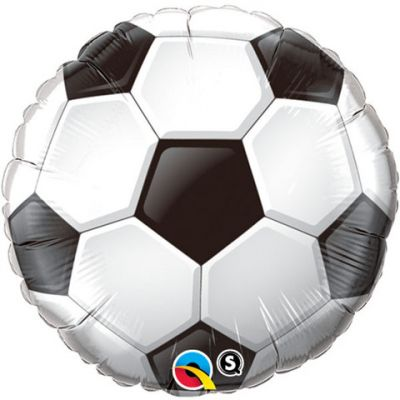 "Qualatex Foil Shape 18"" Soccer Ball"