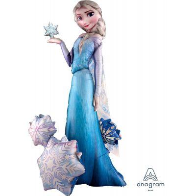 Anagram Foil AirWalker Frozen Elsa (88cm x 144cm)
