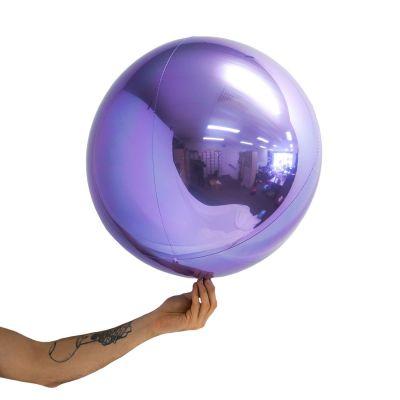 "Loon Balls® 51cm (20"") Metallic Lilac"