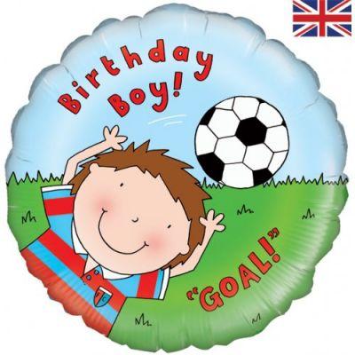 Oaktree Foil 45cm - Happy Birthday Footballer