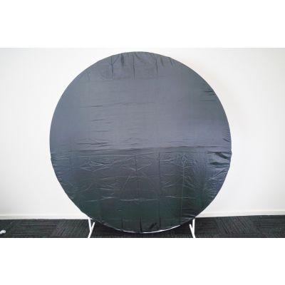 2m Circle Frame Fabric Cover Black