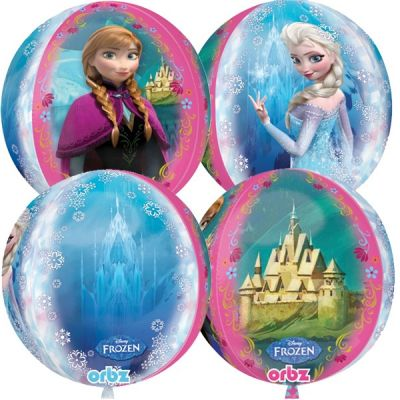 Anagram Licensed Orbz 40cm Frozen Anna & Elsa